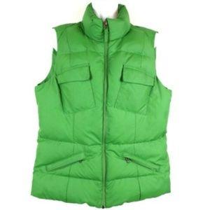 Tommy Hilfiger Womens Vest Down Puffer Green